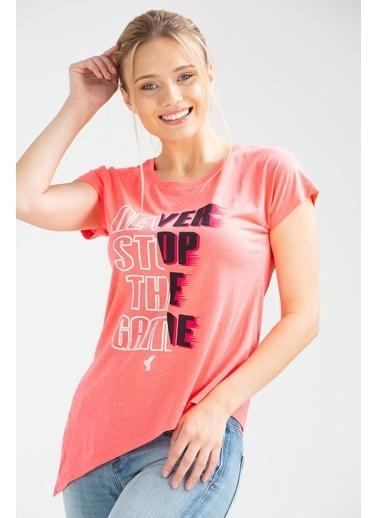 Speedlife Mote Kadın Tişört Fuşya